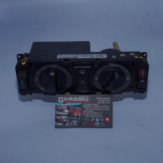 Mercedes Benz Original Heater Control Unit 210 830 20 85  /  9 140 010 258