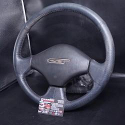 Toyota Starlet EP82 GT Turbo Black Leather Steering Wheel JDM OEM